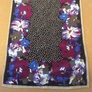 For Bundles Only! Damaged Albert Nipon silk scarf